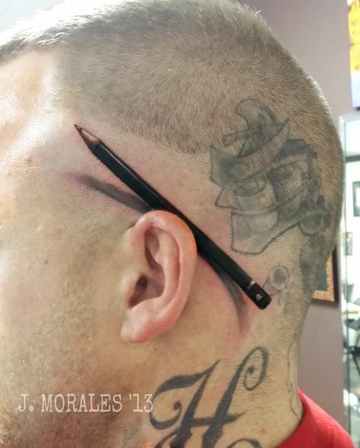 pencil tattoos photo - 31