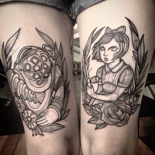 pencil tattoos photo - 32