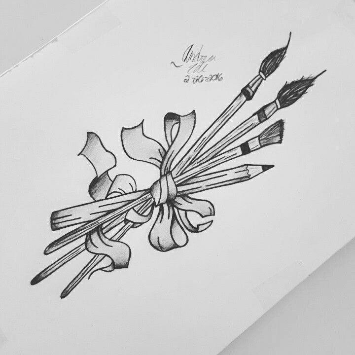 pencil tattoos photo - 35