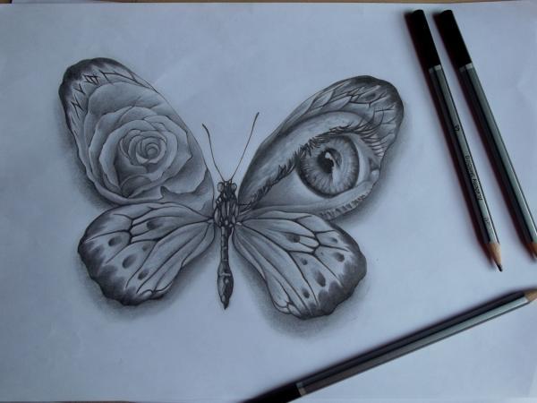 pencil tattoos photo - 36