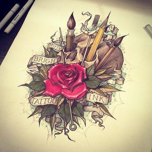 pencil tattoos photo - 37