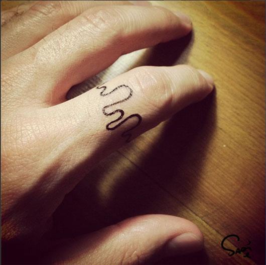 pencil tattoos photo - 40