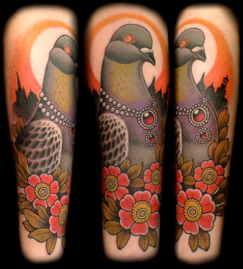 pigeon tattoos photo - 26
