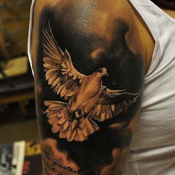 pigeon tattoos photo - 34