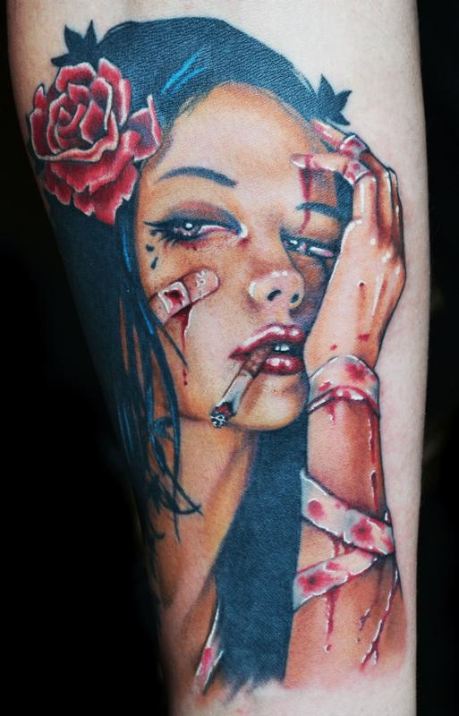 pin up girl tattoos photo - 11