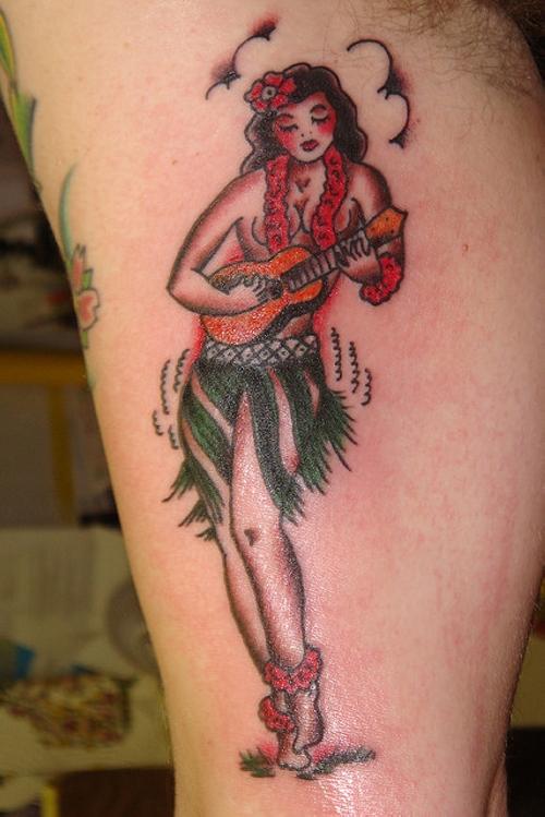 pin up girl tattoos photo - 13