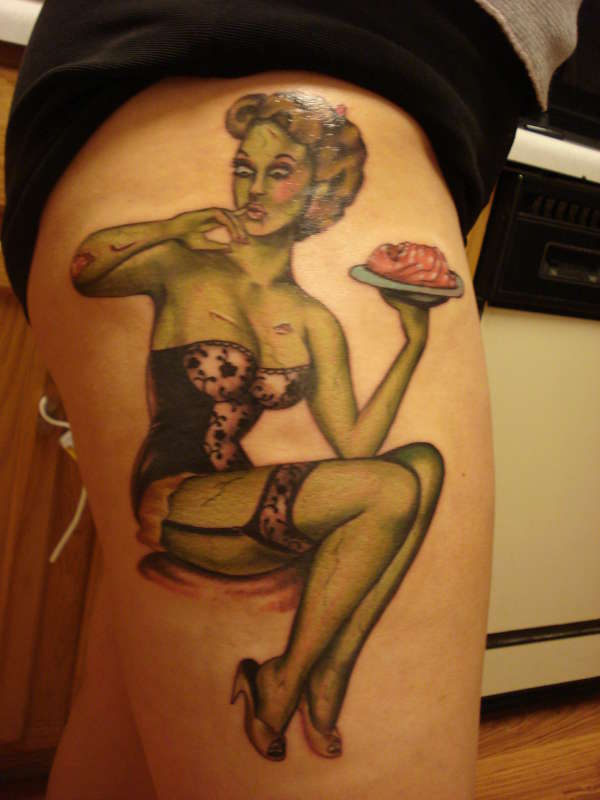 pin up girl tattoos photo - 15