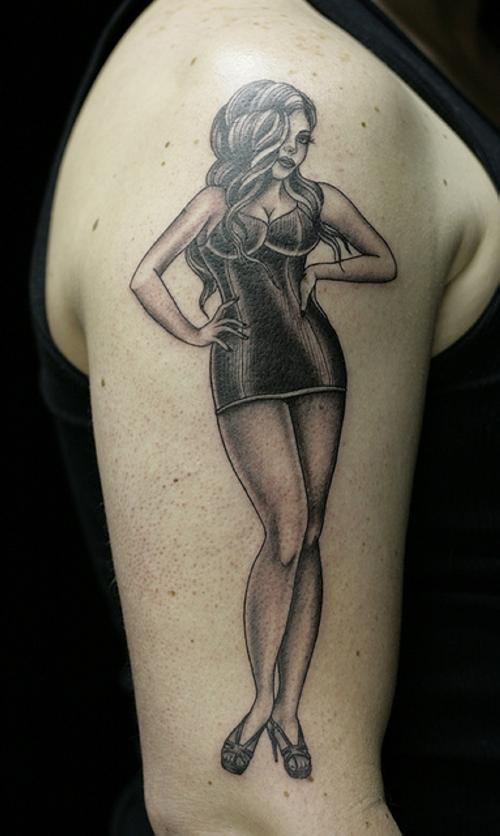 pin up girl tattoos photo - 19