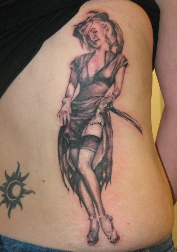 pin up girl tattoos photo - 20