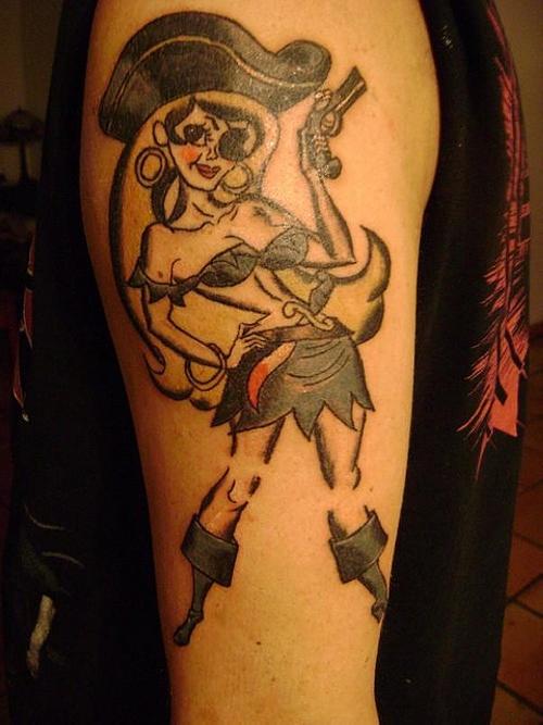 pin up girl tattoos photo - 22