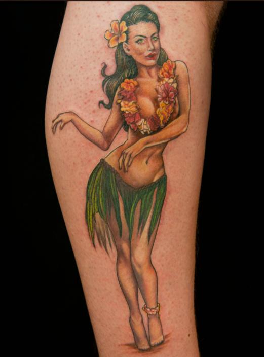 pin up girl tattoos photo - 23