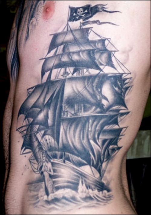 pirate tattoos photo - 1