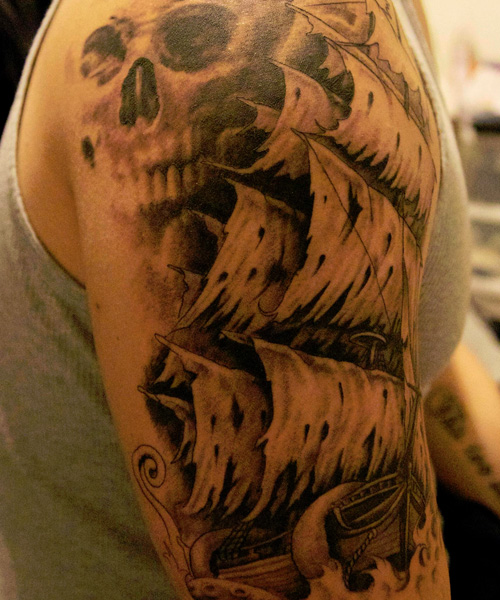 pirate tattoos photo - 13
