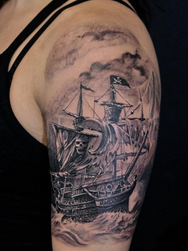 pirate tattoos photo - 14