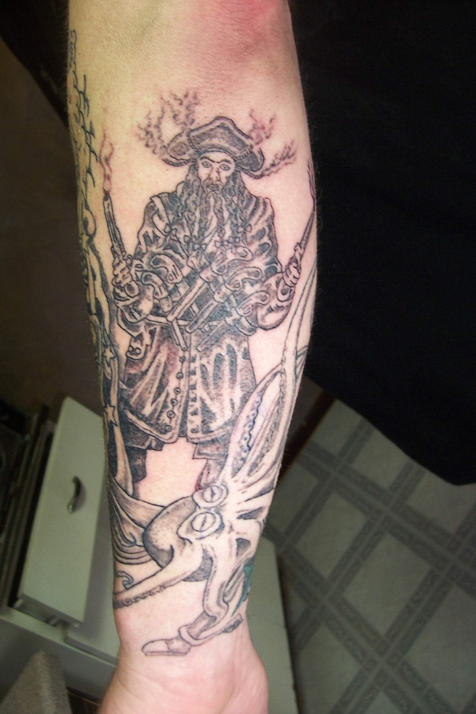 pirate tattoos photo - 17