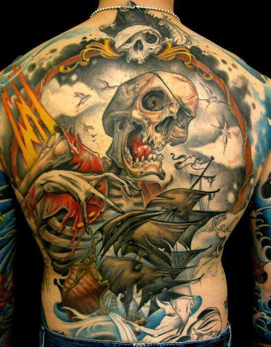 pirate tattoos photo - 20