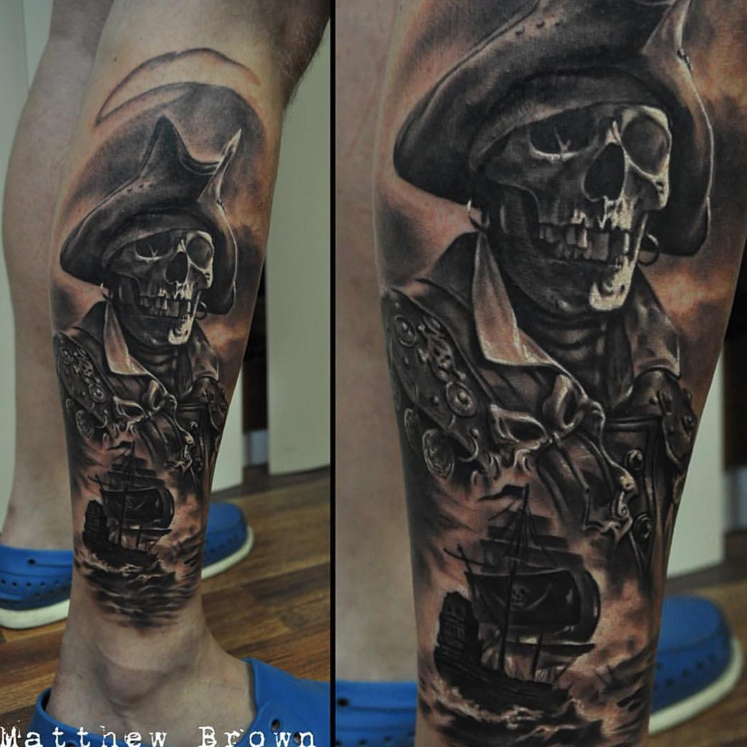 pirate tattoos photo - 28