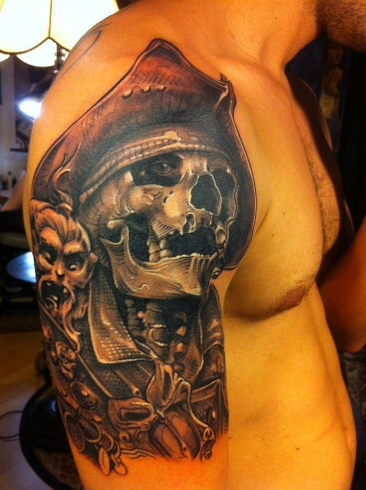 pirate tattoos photo - 3