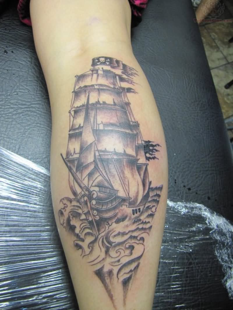 pirate tattoos photo - 30
