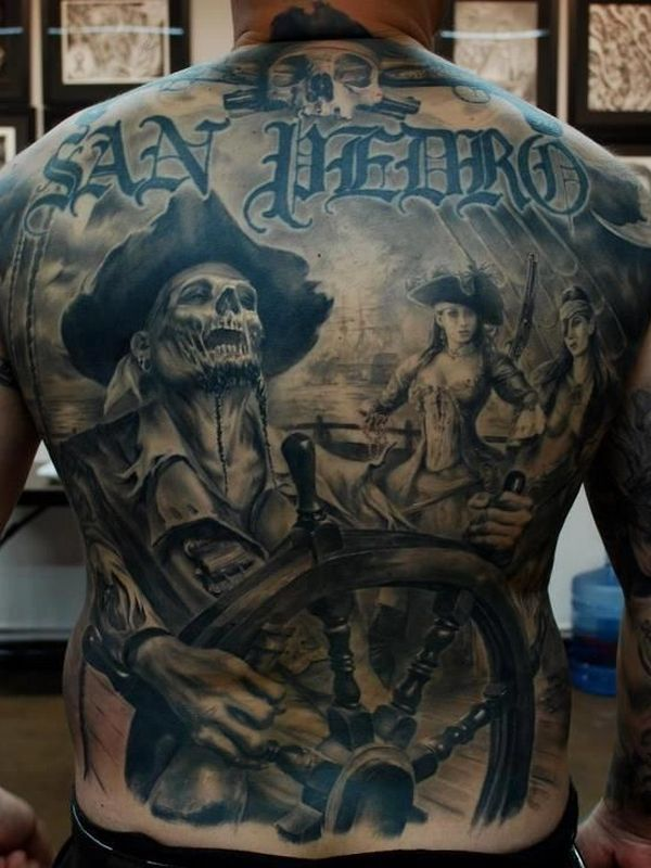 pirate tattoos photo - 6