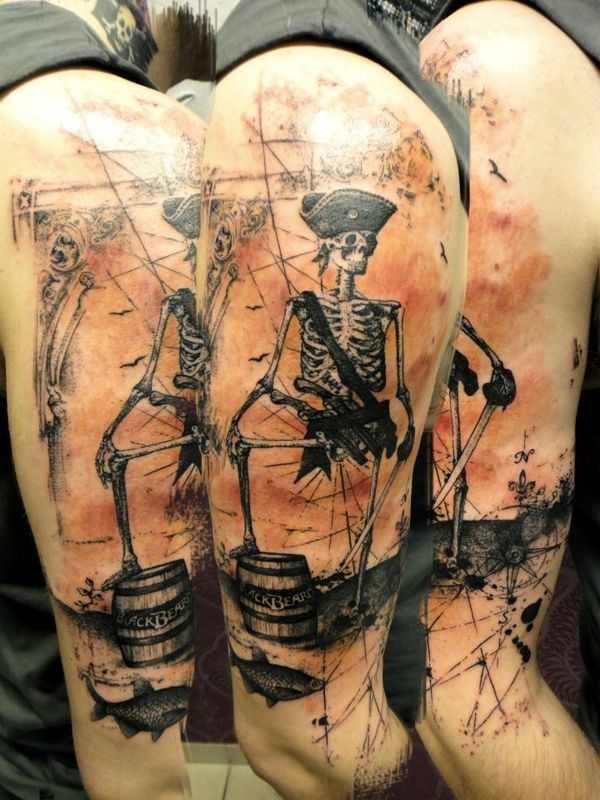 pirate tattoos photo - 7