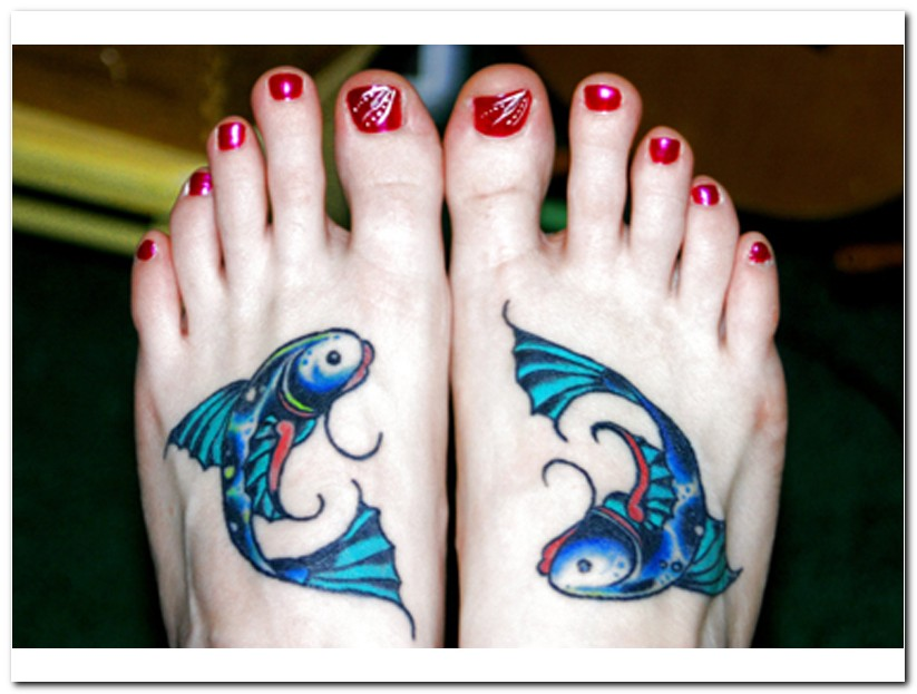 pisces tattoos photo - 1
