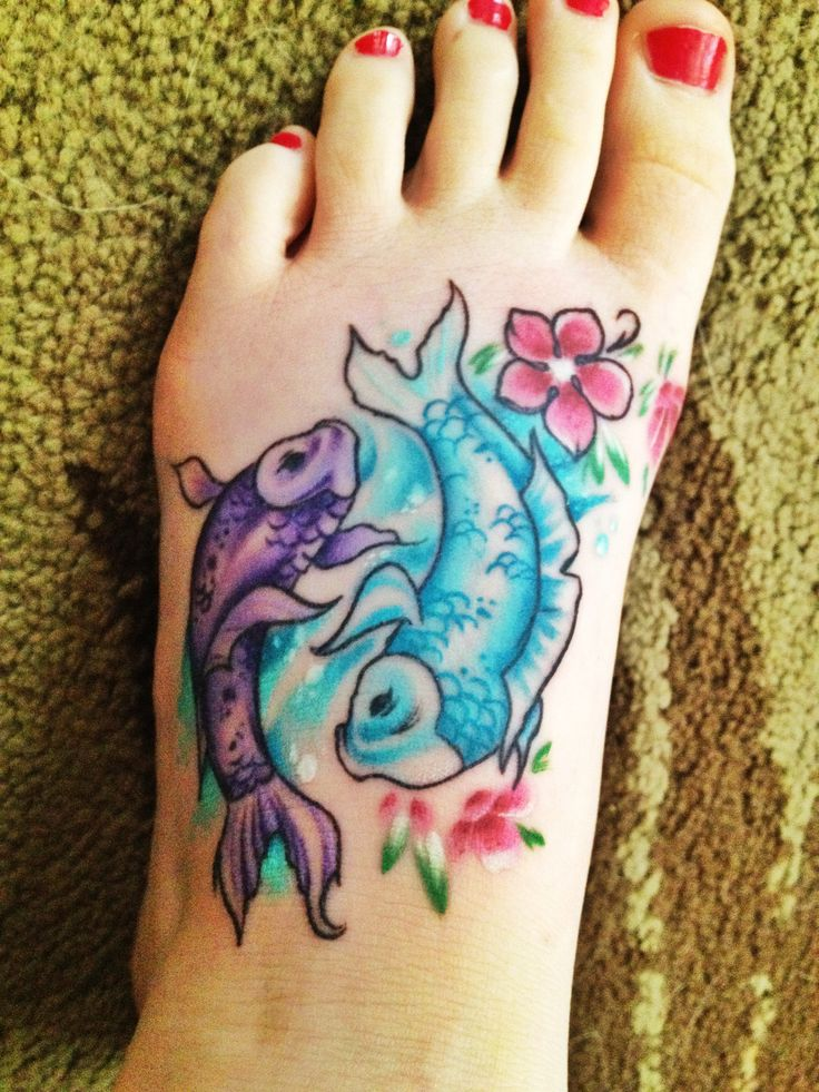 pisces tattoos photo - 19