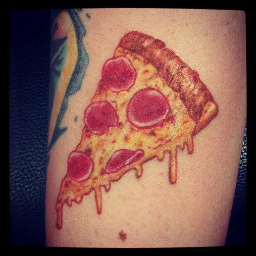 pizza tattoos photo - 1