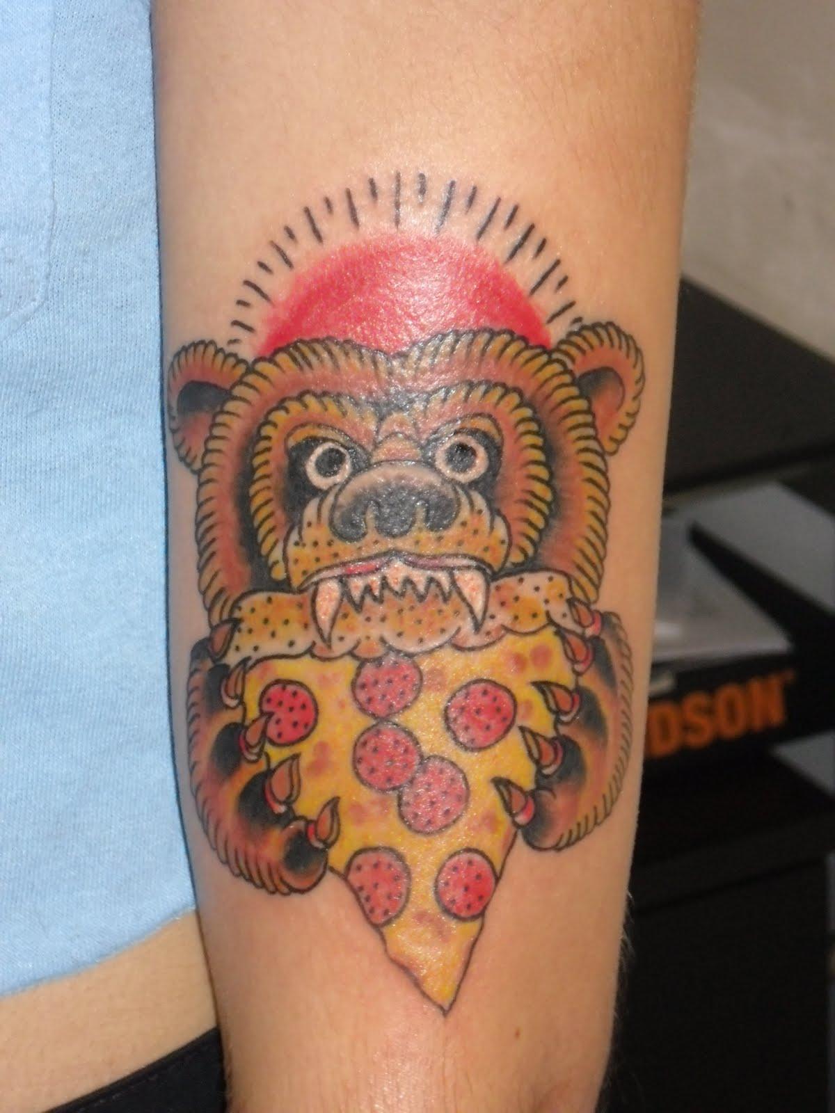 pizza tattoos photo - 12