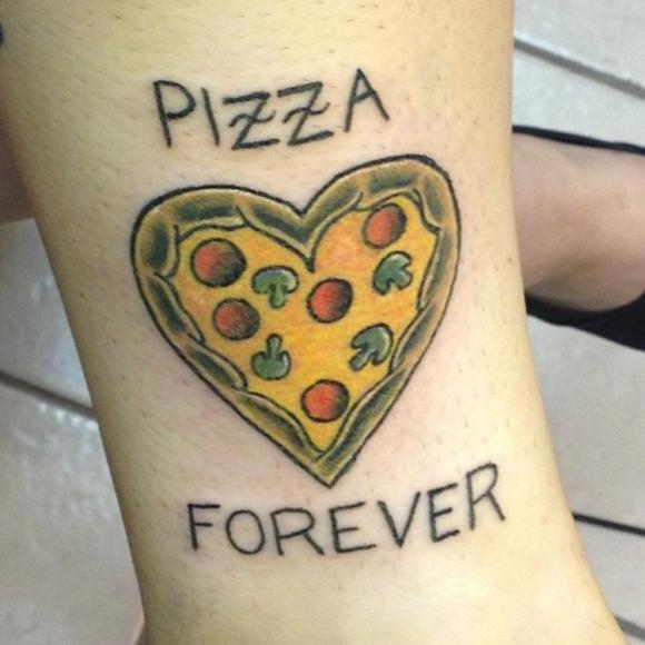 pizza tattoos photo - 15
