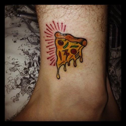 pizza tattoos photo - 27