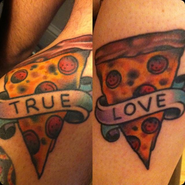 pizza tattoos photo - 30