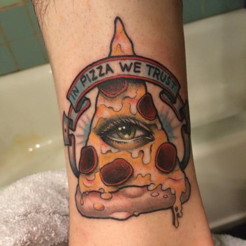 pizza tattoos photo - 31
