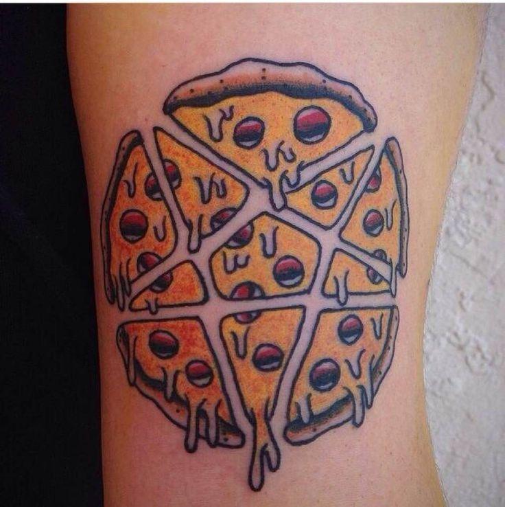 pizza tattoos photo - 4
