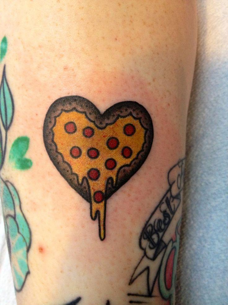 pizza tattoos photo - 5