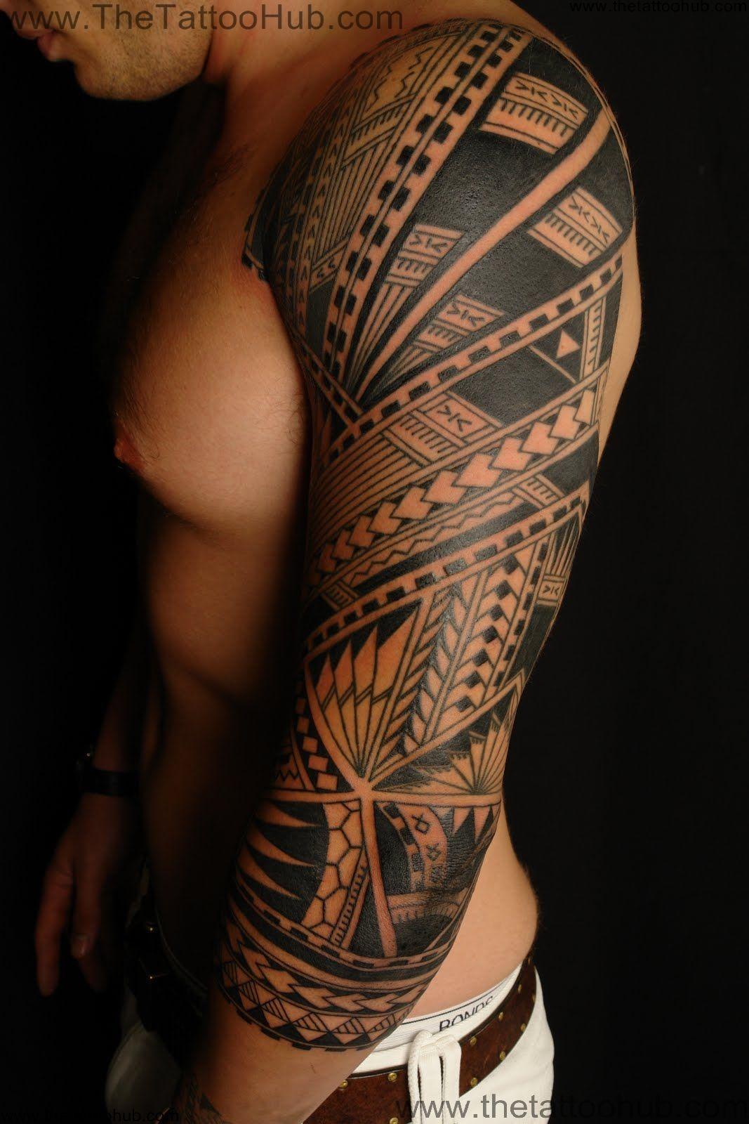 polynesian tattoos photo - 10