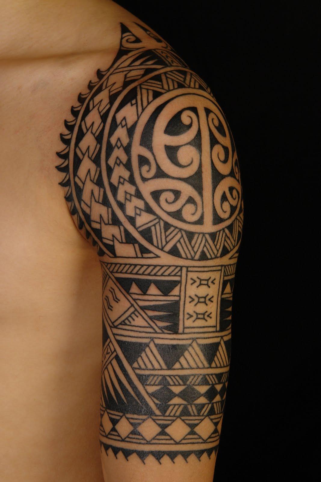 polynesian tattoos photo - 11