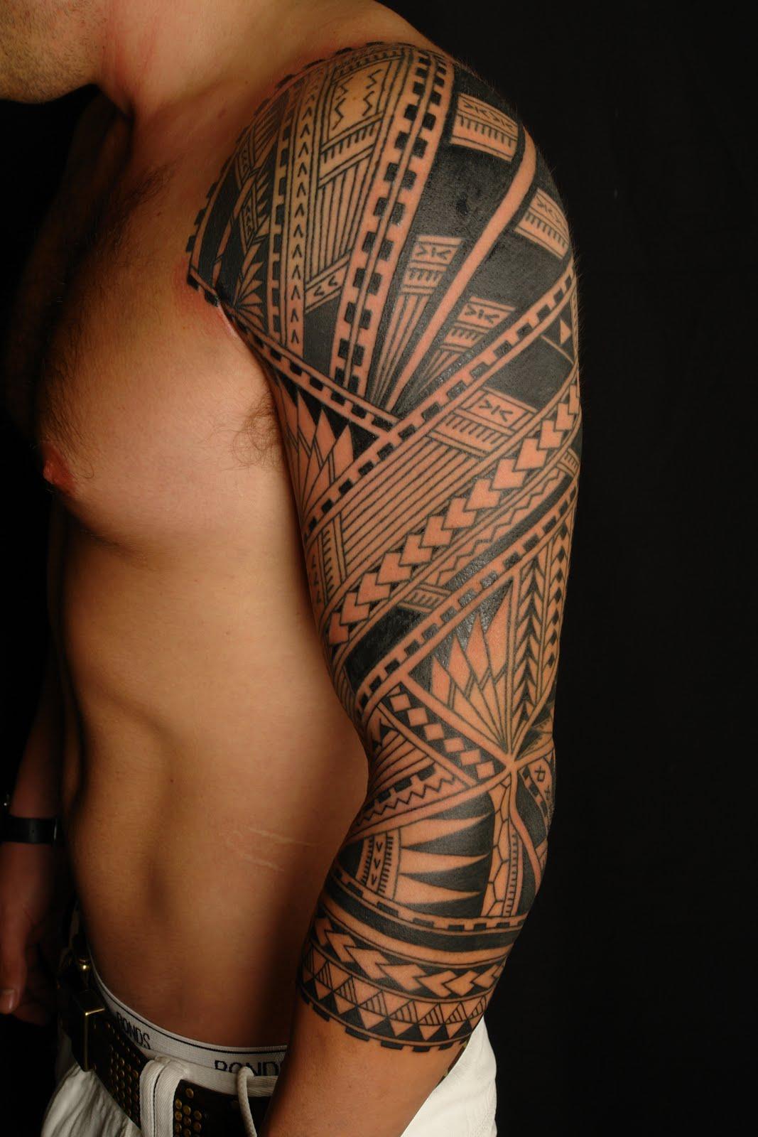 polynesian tattoos photo - 12