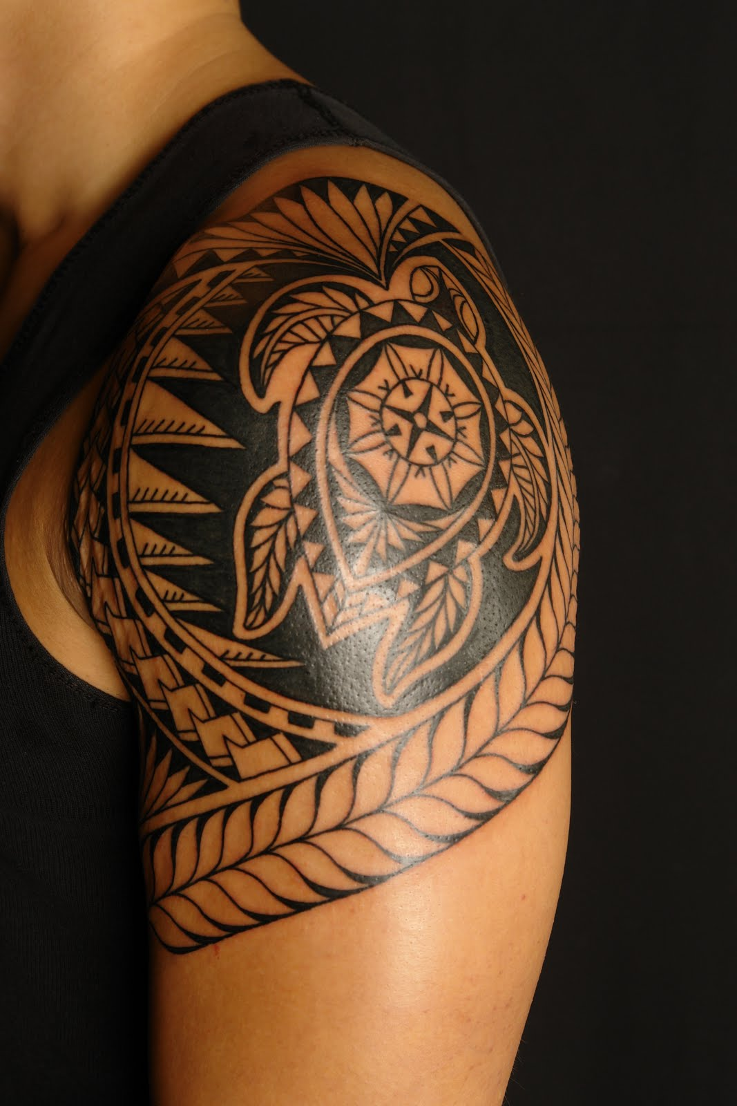 polynesian tattoos photo - 13