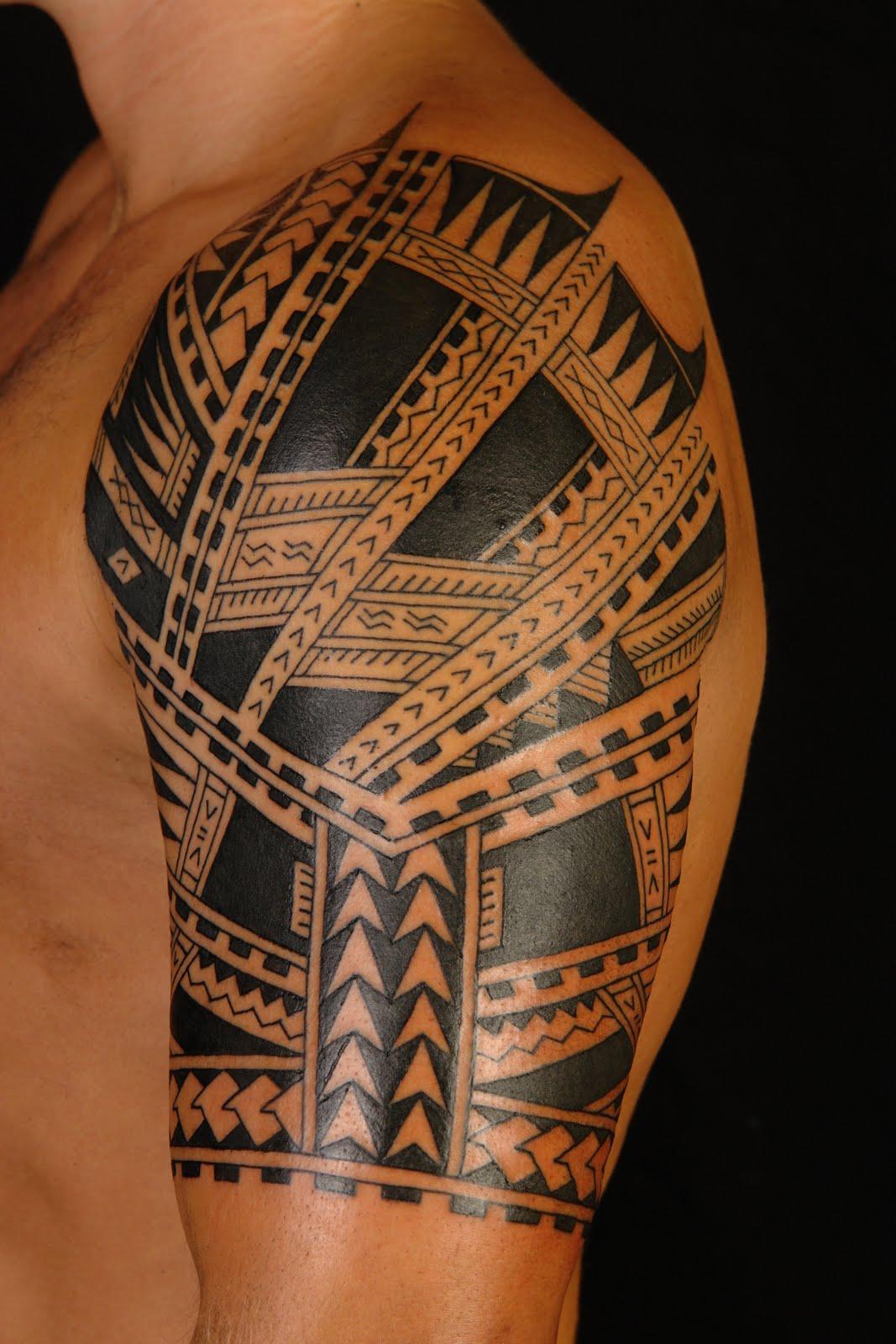 polynesian tattoos photo - 15