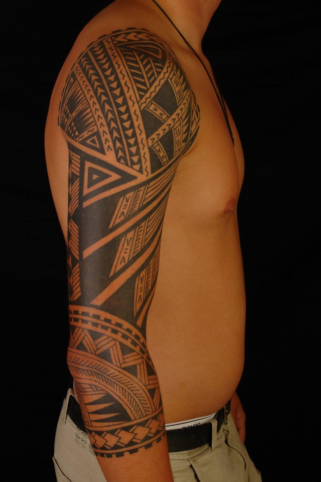 polynesian tattoos photo - 19