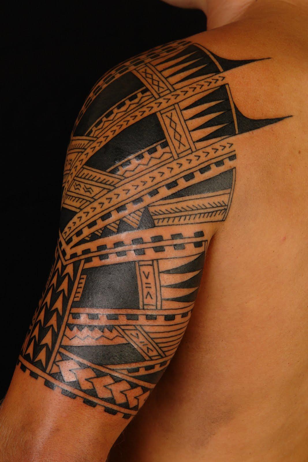 polynesian tattoos photo - 23