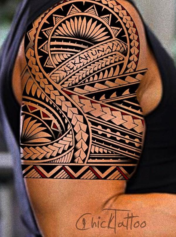 polynesian tattoos photo - 29