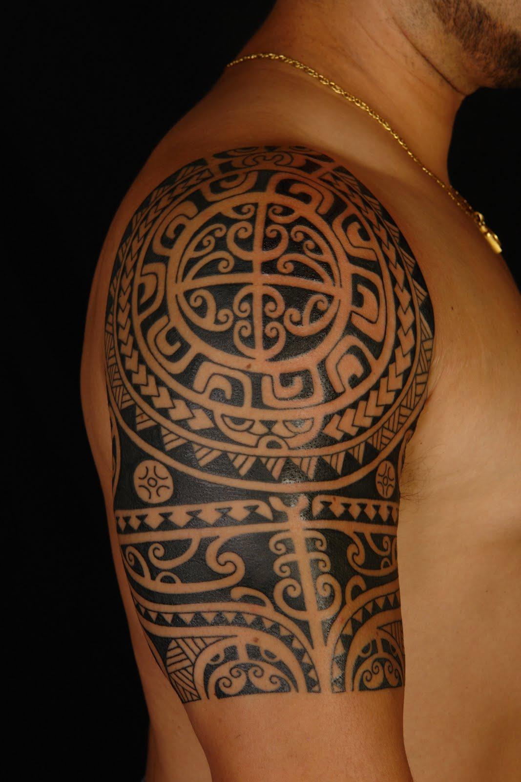 polynesian tattoos photo - 7