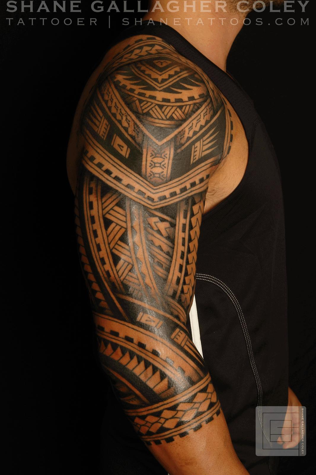 polynesian tattoos photo - 9
