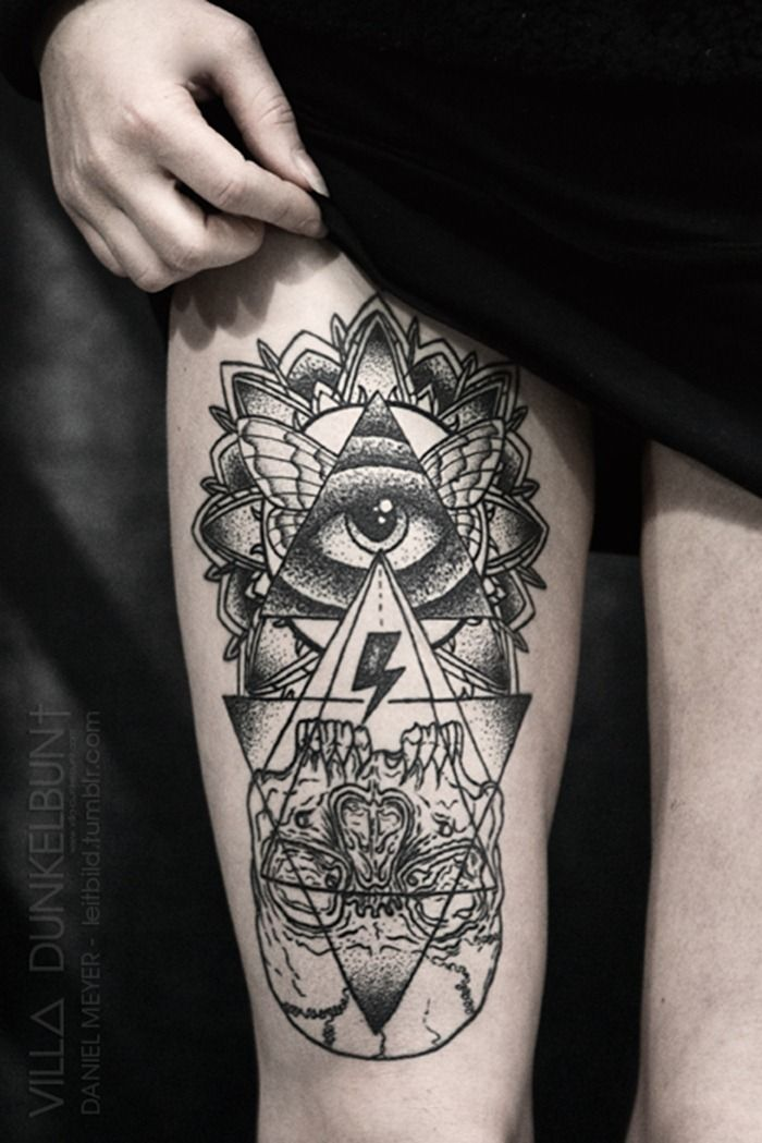 pyramid tattoos photo - 13