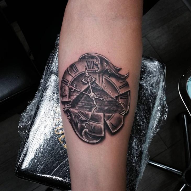 pyramid tattoos photo - 17