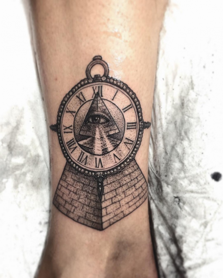 pyramid tattoos photo - 19