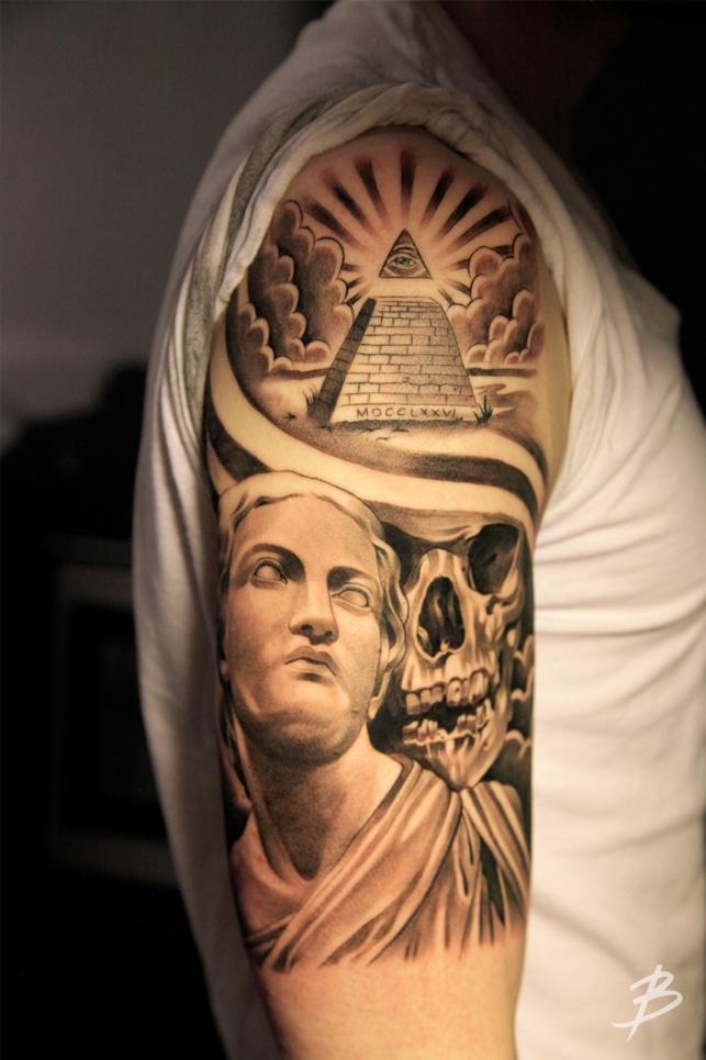pyramid tattoos photo - 2