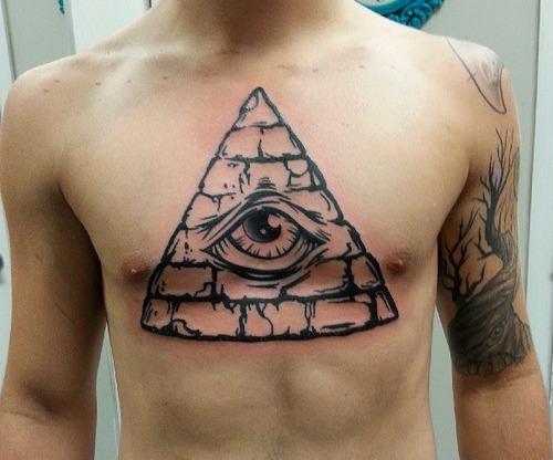 pyramid tattoos photo - 20